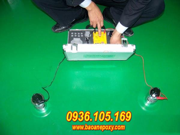 Kiểm tra độ chống tĩnh điện