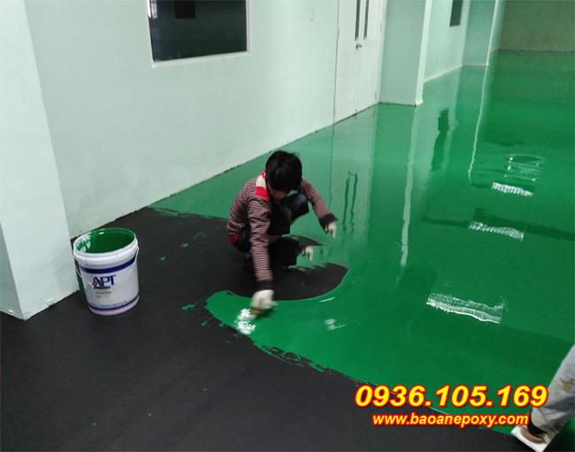 Thi công sơn epoxy chống tĩnh điện
